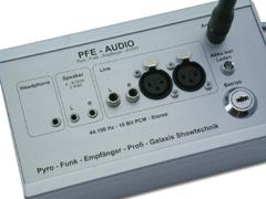 PFE Profi - Audio - Audio-Anschlüsse