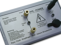 PFE Profi Power - 1 Output - Klemmen