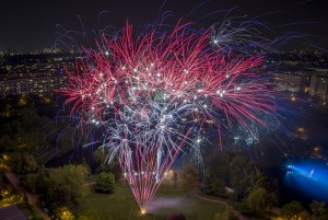 Potsdamer Feuerwerk, HOWOGE Osterfeuer