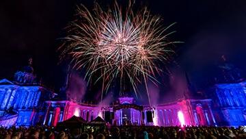 Potsdamer Schlössernacht 2017 Feuerwerk